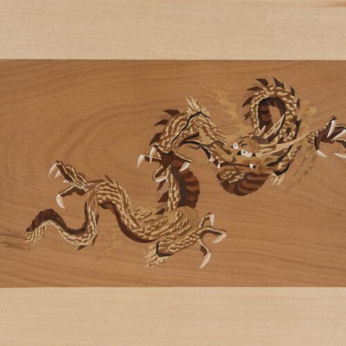 Intarsie Chinesischer Drache