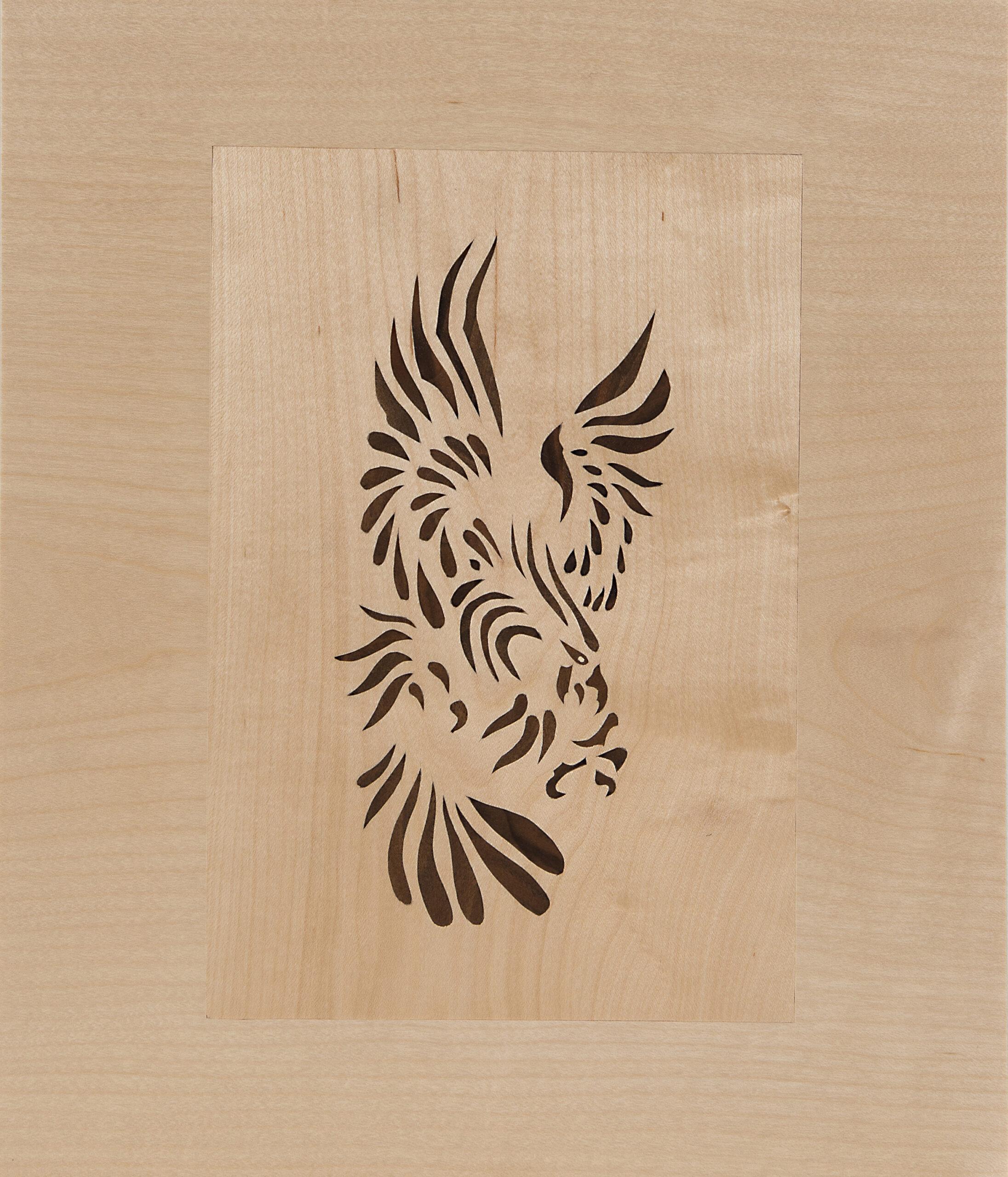 Adler Intarsie