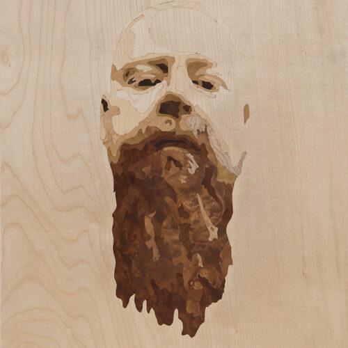 Portrait Intarsie