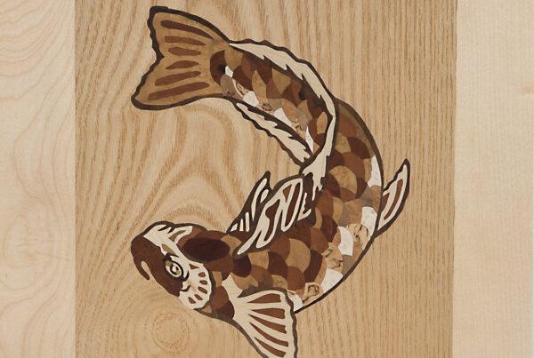 Intarsie Fisch