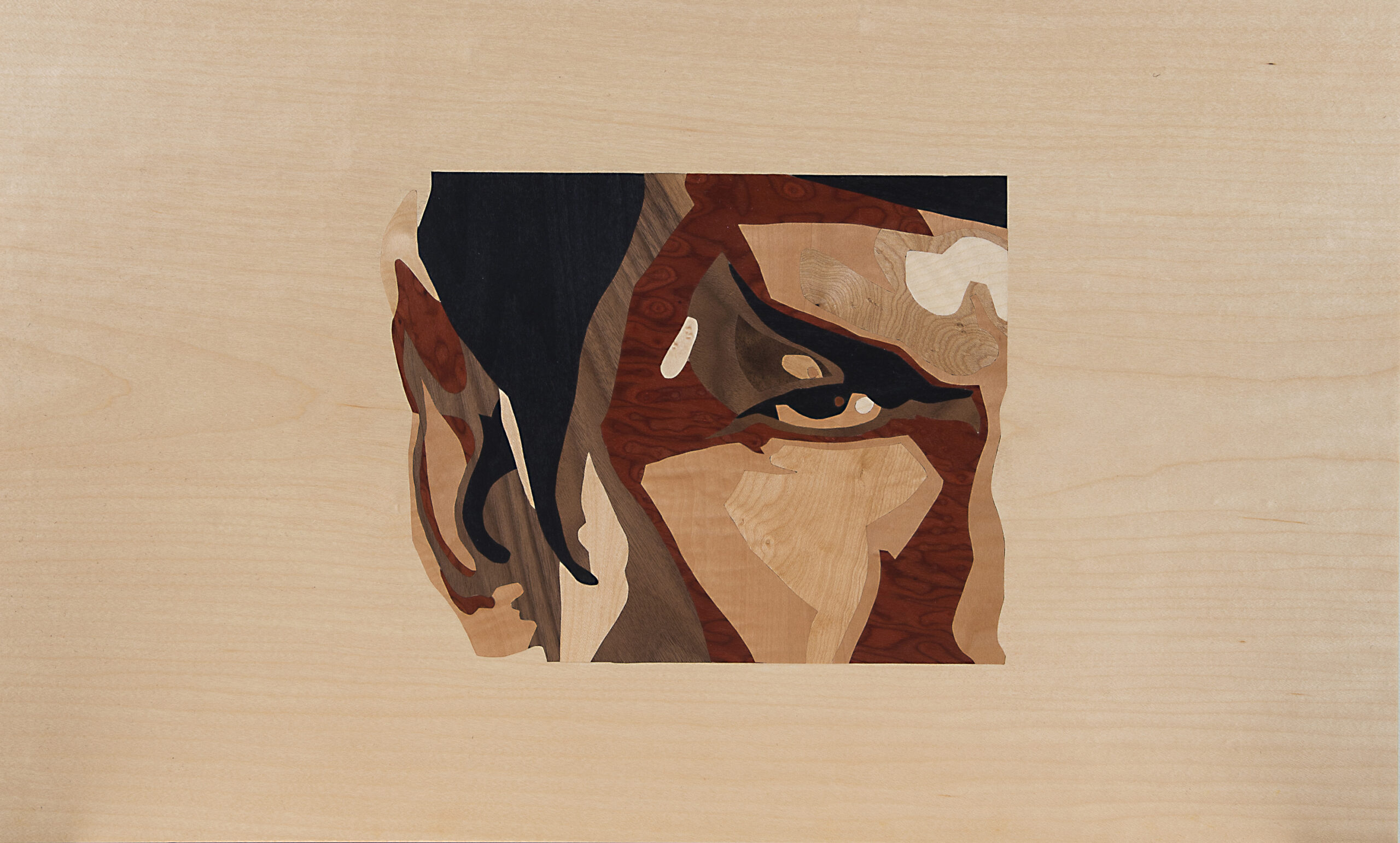 Commander Spock Intarsie