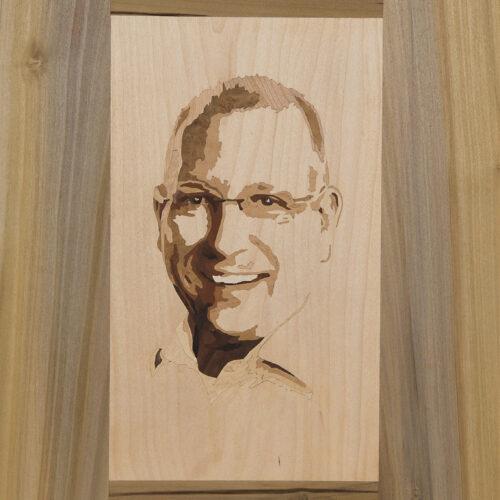 Intarsie Portrait